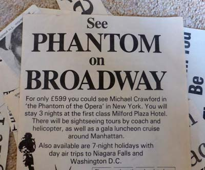 phantom on broadway